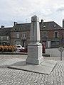 Saint-Marc-le-Blanc (35) Monument commémoratif de Julien Simon dit Champrobert.jpg