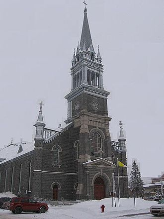 Saint-Raymond, Quebec - Church of Saint-Raymond built in 1900