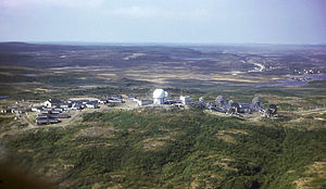 Saint Anthony Air Station - Saint Anthony Air Station, Newfoundland in July 1961