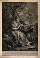 Saint Genevieve. Line engraving by J.J. Avt (?) after C. van Wellcome V0033460.jpg