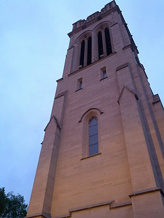 St. Mark's Episcopal Cathedral (Minneapolis) - Bell tower at St. Mark's