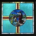 Saint Mary Catholic Church (Gatlinburg, Tennessee) - stained glass, Christ preaching.jpg