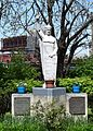 Saint Mary of Victories Church (St. Louis, MO) - St. Stephen of Hungary monument.jpg