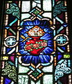 Saint Patrick Catholic Church (Junction City, Ohio) - stained glass, Immaculate Heart.jpg