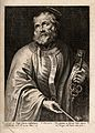 Saint Peter. Line engraving. Wellcome V0032831.jpg