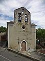 Sainte-Tulle, façade de l'église Notre-Dame de Beauvoir.JPG