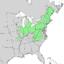 Salix sericea range map 2.png