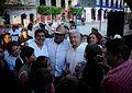 Salomón Jara en 4 día de campaña visitando Mitla.jpg