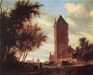 Landschaft mit dem Utrechter \