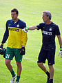 Samir Handanović and Alessandro Nista.jpg