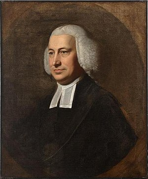Samuel Cooper (clergyman) - Portrait of Samuel Cooper by John Singleton Copley