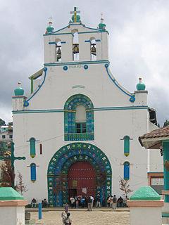Chamula Municipality in Chiapas, Mexico