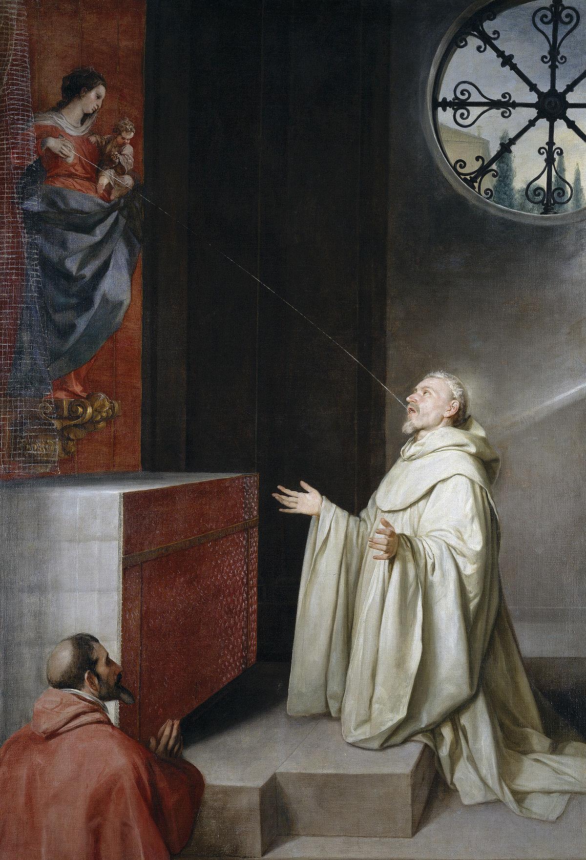 San Bernardo y la Virgen, de Alonso Cano.jpg