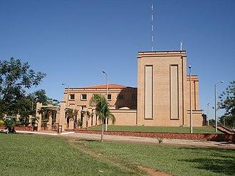 San Juan Bautista, Paraguay - Court buildings