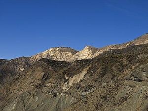 San Rafael Mountains - San Rafael Mountains between Alexander Peak and Little Pine Mountain