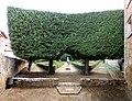 San quirico d'orcia, horti leonini, serliana verde 05,0.jpg