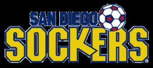 San Diego Sockers (1978–96) - Image: Sandiego sockers logo