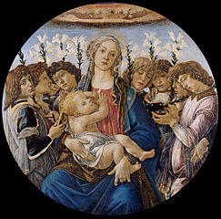 Mary with the Child and Singing Angels