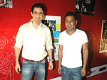 Sanjay Suri (L) (Producer) and Onir (R) (Director) - Best Feature Film in Hindi