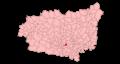 Santa María del Páramo - Mapa municipal.png