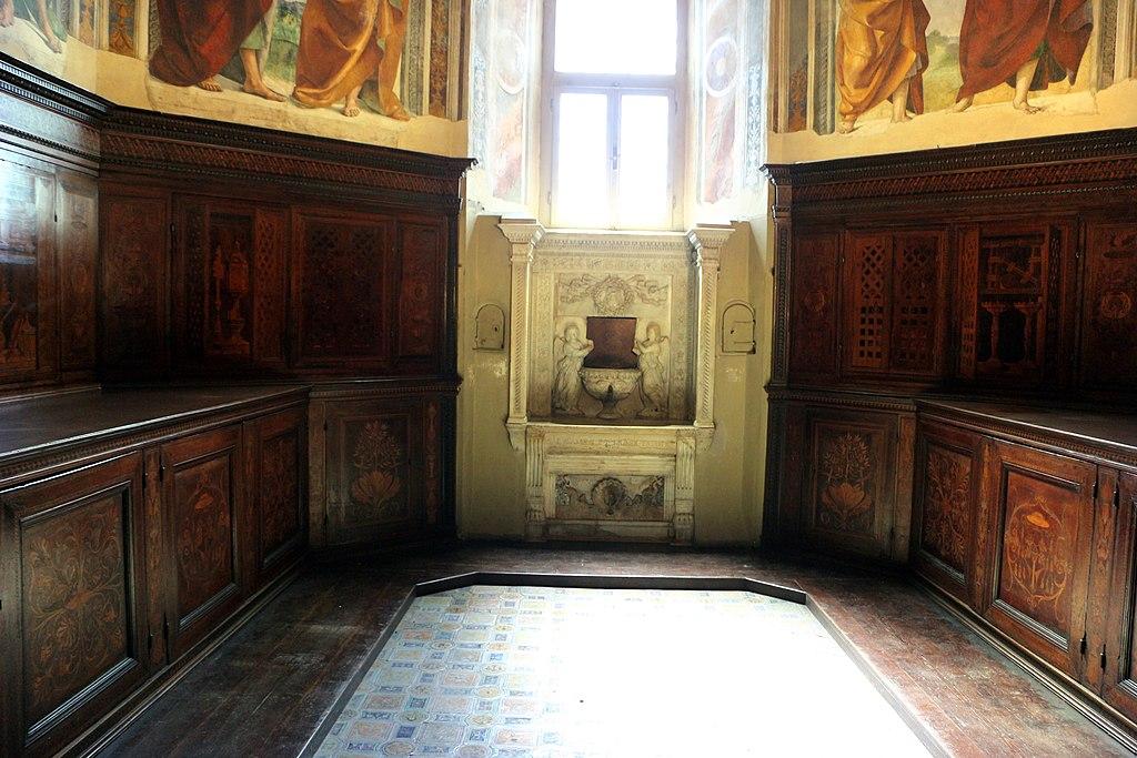 Santuario di loreto, sagrestia di san giovanni, con affreschi di luca signorelli, 03.jpg