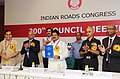 """Sarvey Sathyanarayana releasing the """"Guidelines on Compaction Equipment for Road Works"""", at the inauguration of the 200th Mid-Term Council Meeting of Indian Roads Congress, in New Delhi on August 11, 2013.jpg"""