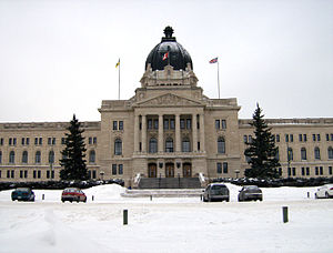Legislative Assembly of Saskatchewan - Image: Sask Legislative Bldg