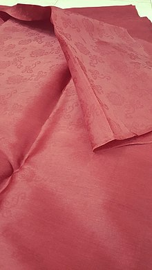 ff436d8573 Satin from Mã Châu village, Vietnam. A sample of a silk ...