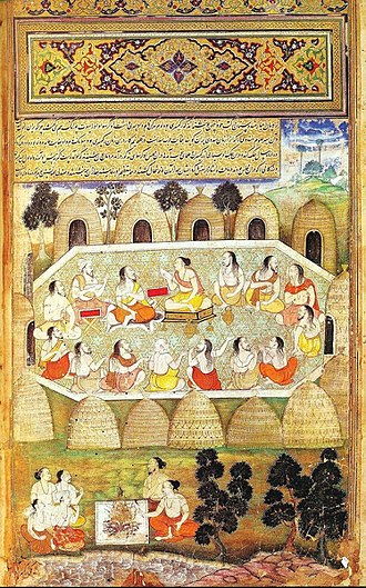 Mahabharata - Sauti recites the slokas of the Mahabharata.