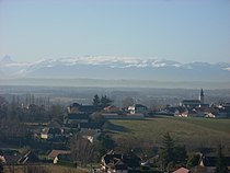 Sauvagnon vue du village.JPG