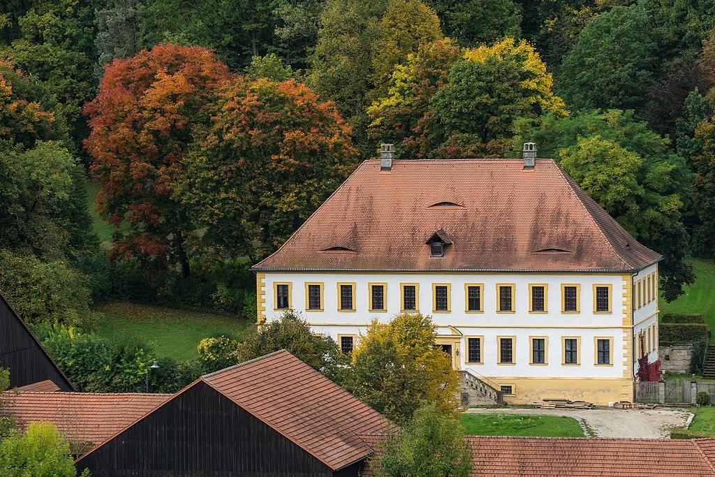 Schloss Weißenbrunn Hauptansicht