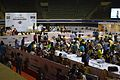 School Students Preparing Their Robot - Indian National Championship - WRO - Kolkata 2016-10-22 1112.JPG