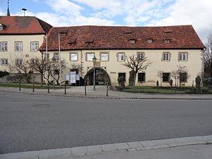 Schrozberg - Schrozberg Rathaus, the town hall.