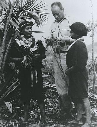 Ethnobotany - Image: Schultes amazon 1940s