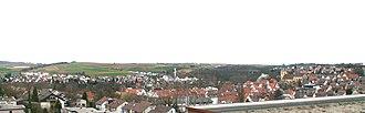 Schwieberdingen - Image: Schwieberdingen Panorama 20060402