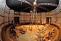 Science on Sphere under Construction - Dynamotion Hall - Science City - Kolkata 2016-02-23 0715.JPG
