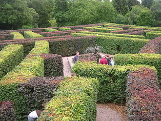 Scone Palace - Maze at Scone Palace