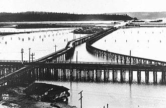 Seattle-Tacoma Box Company - Seattle Box Company, 1905, built on Elliott Bay tidelands