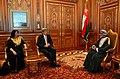 Secretary Kerry and Ambassador Holtz Meet With Omani Sultan Qaboos bin Said Al Said.jpg