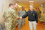 Secretary of the Army meets hospital workers at Kandahar Airfield's Role 3 DVIDS499697.jpg