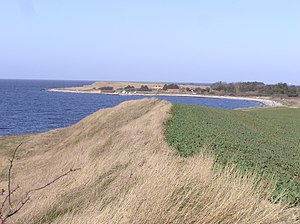 Sejerø - Typical coastline at Sejerø.