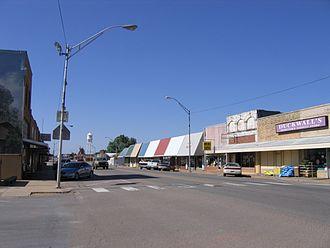Seiling, Oklahoma - Downtown Seiling