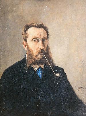 Paul Guigou - Image: Self Portrait 1869 Paul Guigou