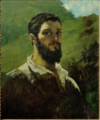 Selfportrait by Gustave Courbet 1850-1853.png