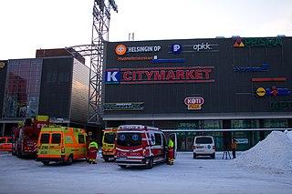 2009 Espoo shopping mall shooting