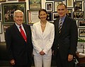 Senator Richard Lugar and Congressman Pete Visclosky with Ashley Judd.jpg