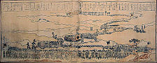 Troops from Sendai, following their mobilization in April, joined a northern alliance against Imperial troops in May 1868