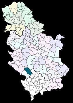 mapa srbije novi pazar Novi Pazar (općina) – Wikipedija mapa srbije novi pazar