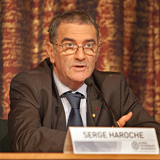 Serge Haroche French physicist