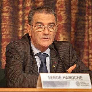 Serge Haroche French physicist, Nobel laureate